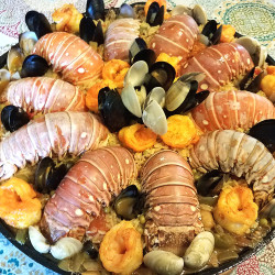 20170722_162622 Lobster Paella